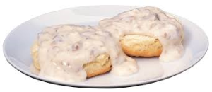 Biscuit and gravy