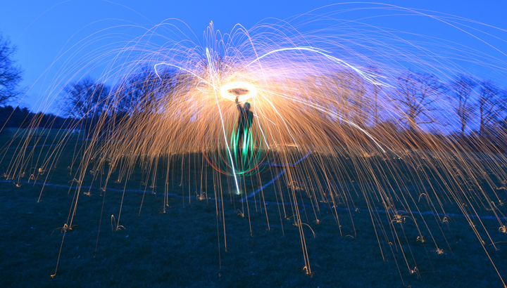 Light-Painting-Firework