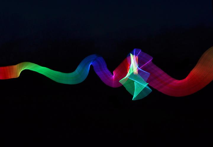 Light-Painting-Ribbon