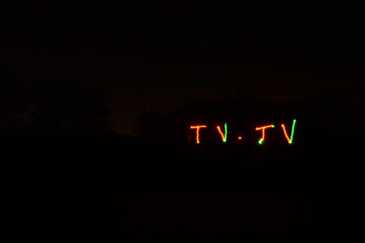 Light-Painting-TV